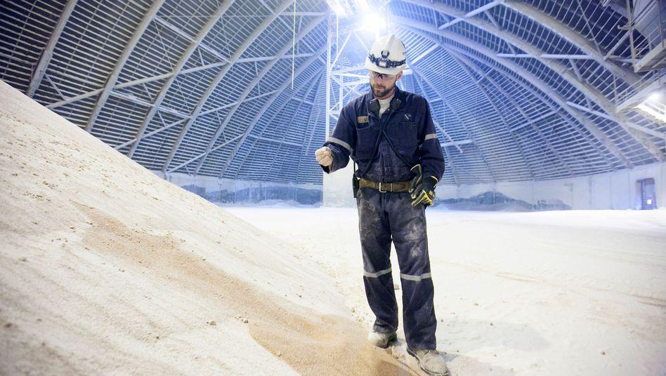 Kalilager von Potash: Der kanadische Konzern will mit einem heimischen Wettbewerber zusammengehen