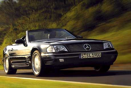 Bis zu 235.364 Mark kostet die Mercedes-Sonderausgabe
