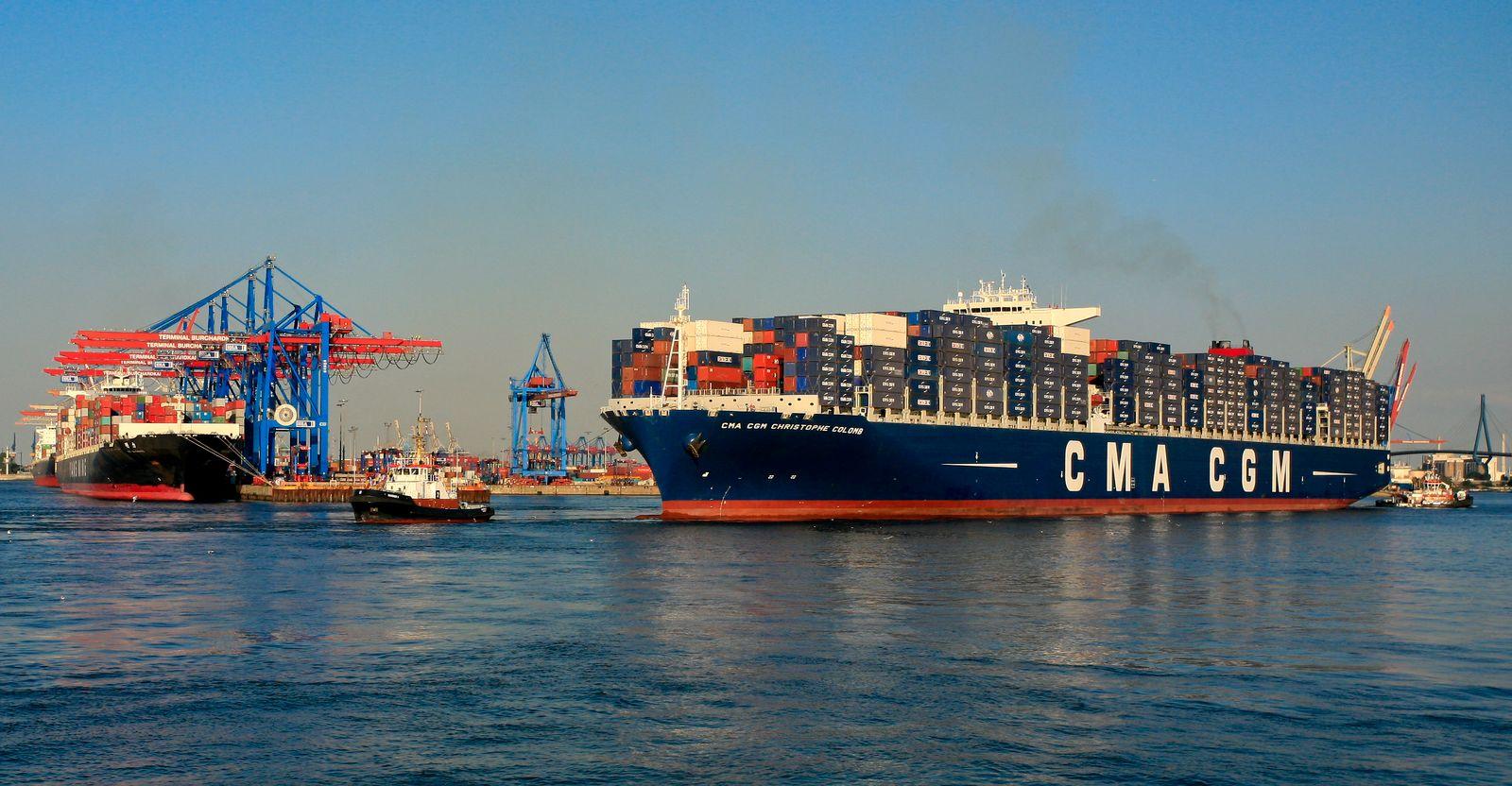NICHT VERWENDEN Containerschiff / Christophe Colomb