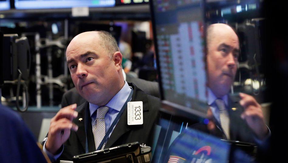 Rekordkurse an der Wall Street: Die Not der Sparer hat Aktienkurse beflügelt - bis jetzt