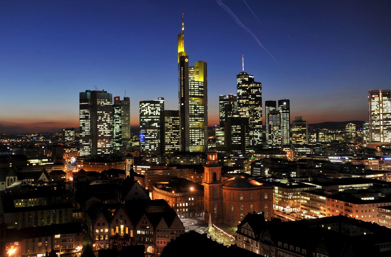 Skyline Frankfurt Bankenviertel