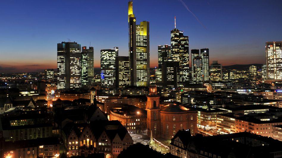 Deutsche Bankenhochburg Frankfurt am Main: Hoffnung auf Rückzahlung aus Spanien steigt