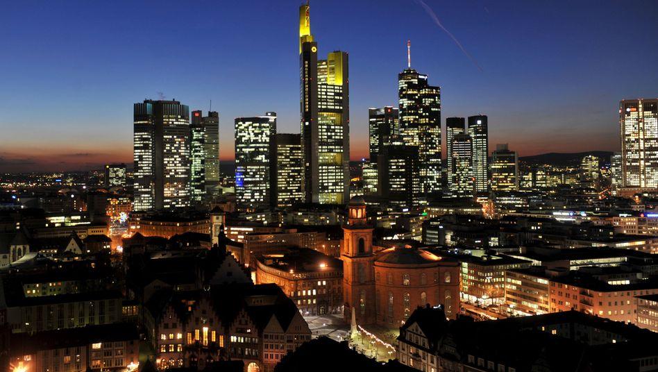 Türme in der Brandung? Europas Banken häufen Kapital gegen die Krise an