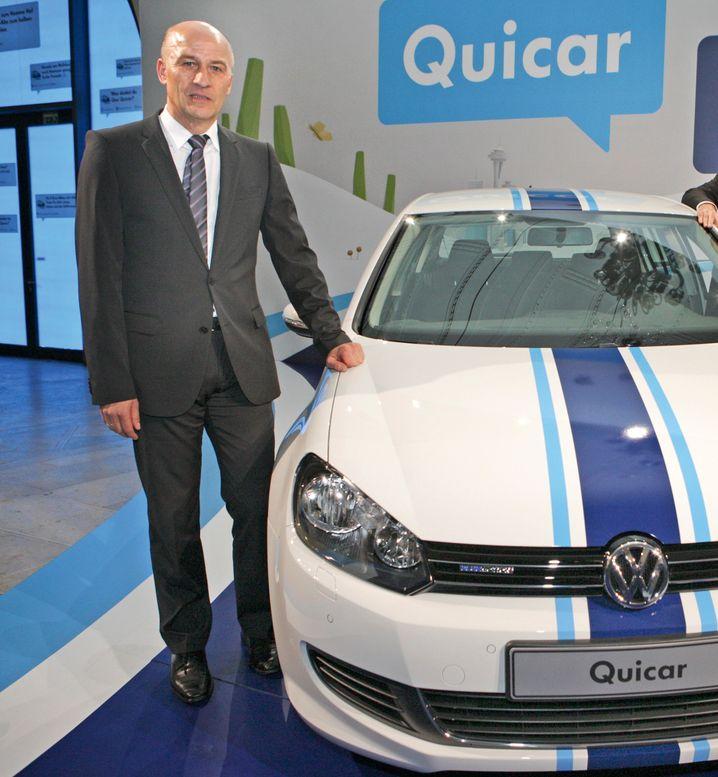 VWs Finanztochter steht derzeit ohne Spitzenmann da - der CEO von Volkswagen Financial Services, Frank Witter (im Bild), ist nun Finanzvorstand des VW-Konzerns