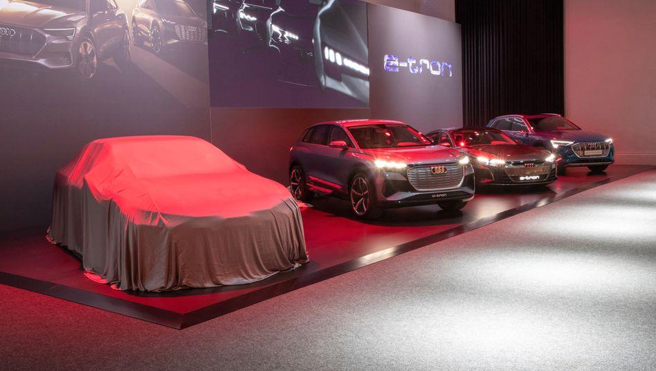 Audis bisherige Elektrohoffnung e-tron reicht nicht aus: Bis 2024 soll ein neues Modell auf die Straßen.