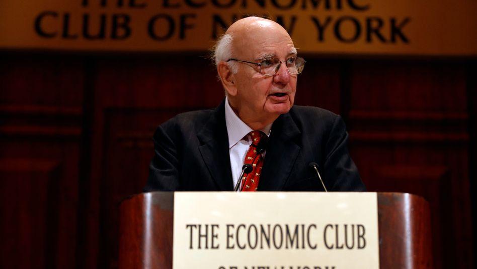Paul Volcker ist im Alter von 92 Jahren gestorben