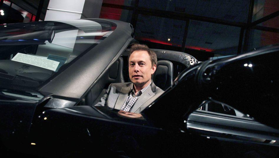 Gewohnt angriffslustig: Tesla-Chef Elon Musk