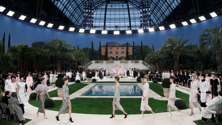 Karl Lagerfeld: Seine letzte Haute Couture-Schau