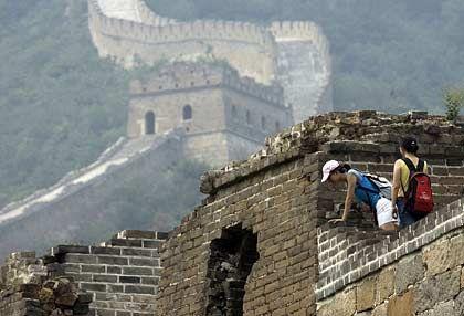 Chinesische Mauer: Die Hälfte der 2006 beanstandeten Waren in der EU stammten aus China