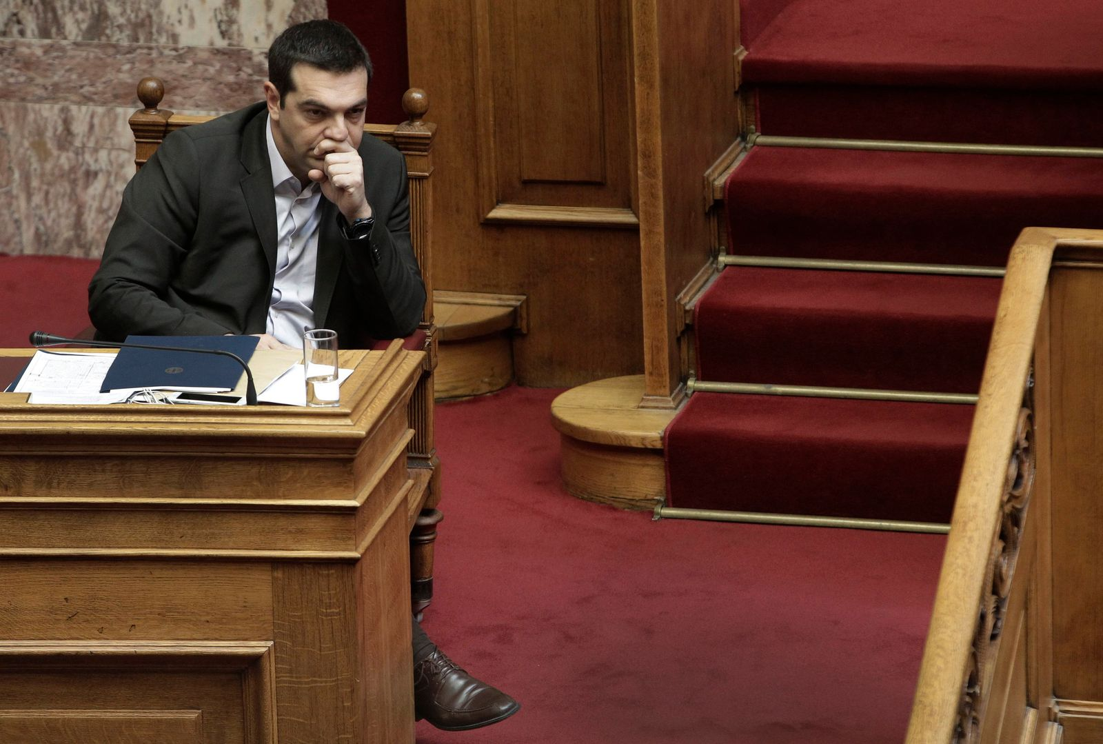Tsipras Parlament