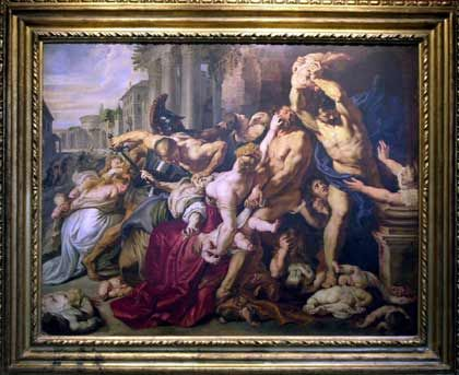 Peter Paul Rubens: Das Massaker der Unschuldigen