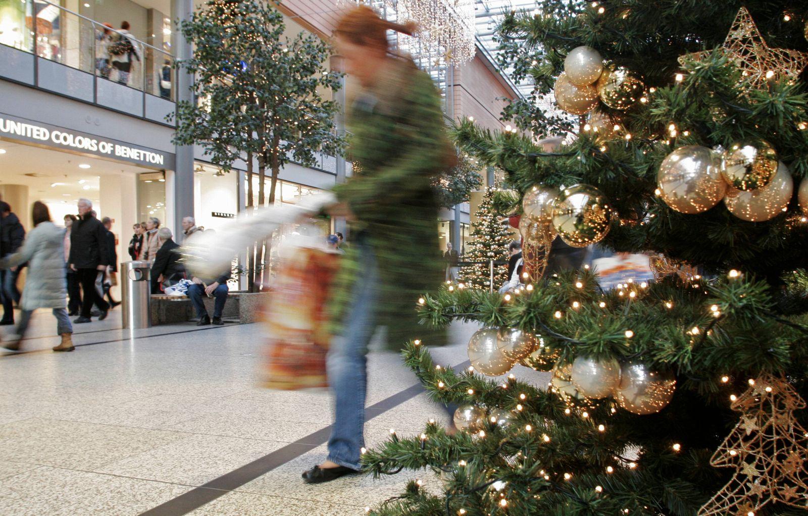 NICHT VERWENDEN Weihnachten/ Einkaufen