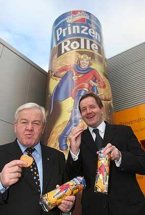 Wieder unter sich: Heinz Gries (l.) und Andreas Land sind nun alleinige Inhaber bei Griesson de Beukelaer