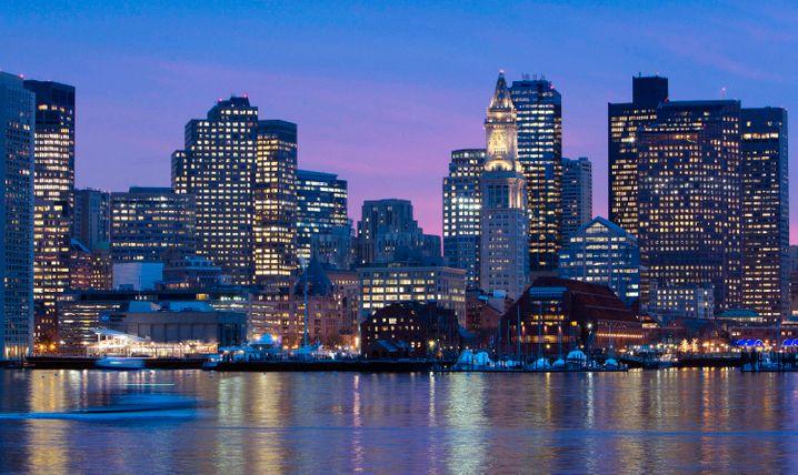 Skyline von Boston: US-Immobilienaktien sind zuletzt stark gestiegen