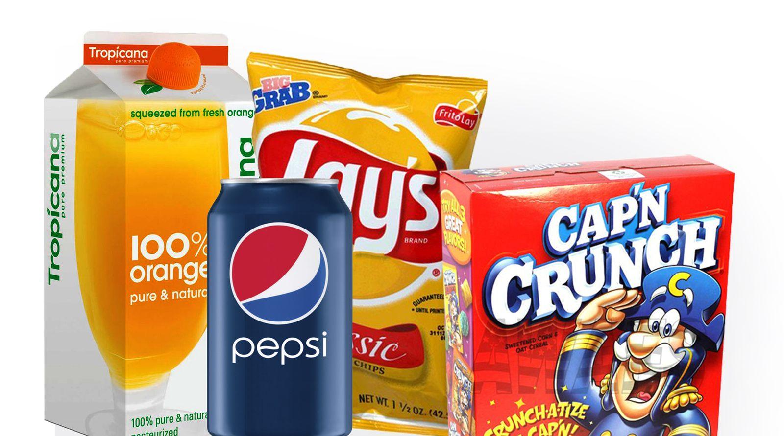 PepsiCo Produkte / Collage
