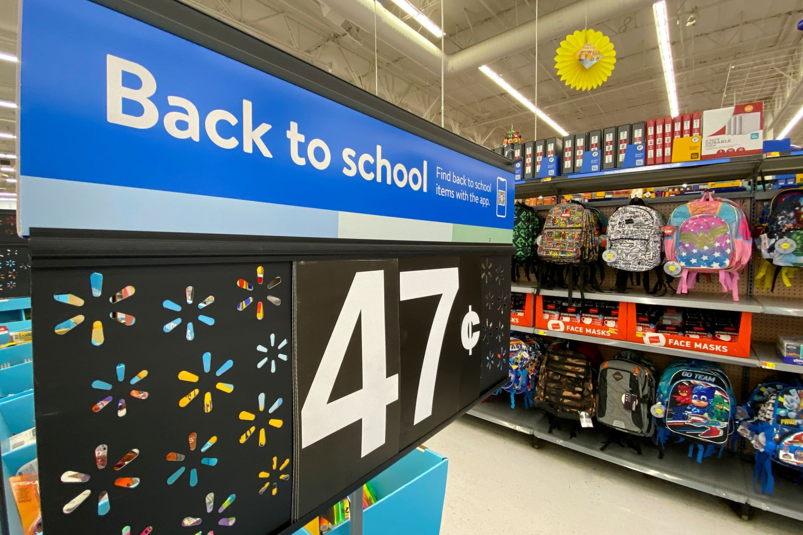 FILE PHOTO: Back to school suppiles for sale in U.S. department stores