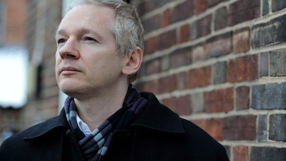 Angeklagt: Wikileaks-Gründer Julian Assange