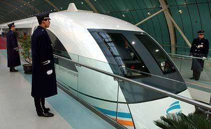 Transrapid in Shanghai: Bündnisse schützen nicht vor Ideenklau