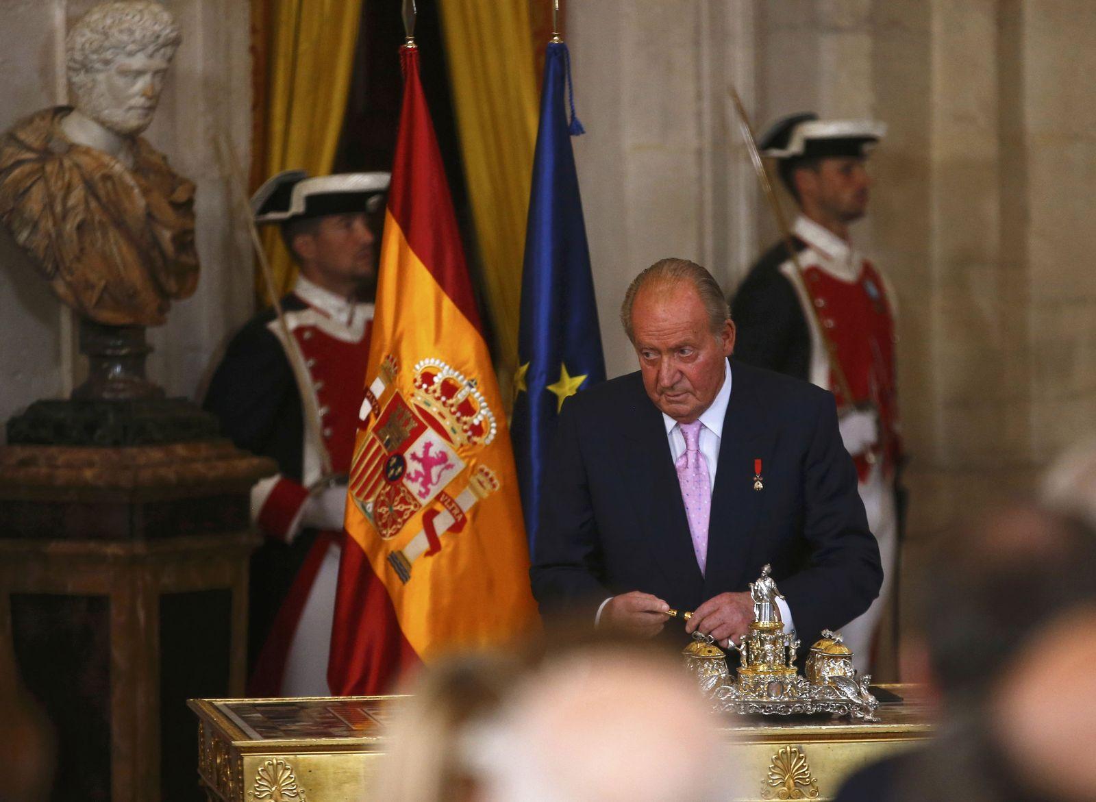 SPAIN-KING/