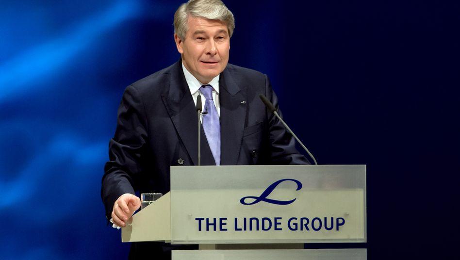 Linde-Chef Wolfgang Büchele: Wachstum dank des schwachen Euro
