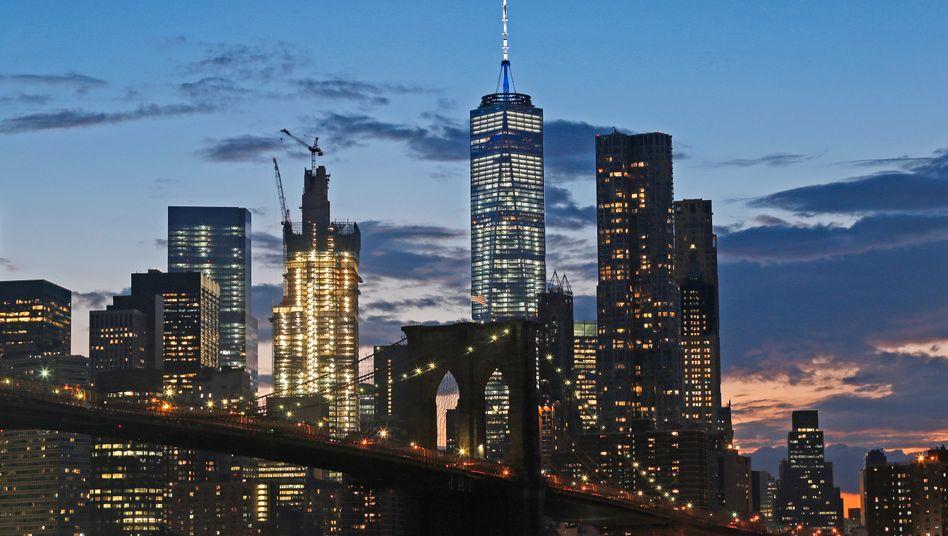 Soll beziehungstechnisch sauber bleiben: das US-Finanzzentrum Manhattan.