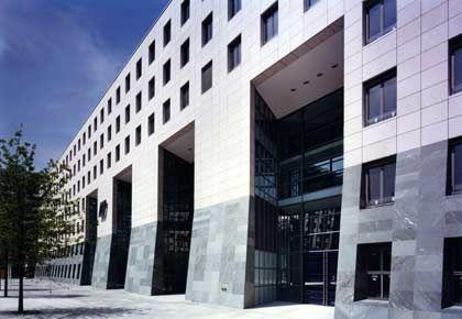 Zentrale der Düsseldorfer IKB: Nicht die einzige deutsche Bank, die in der Kreditkrise Schaden nimmt