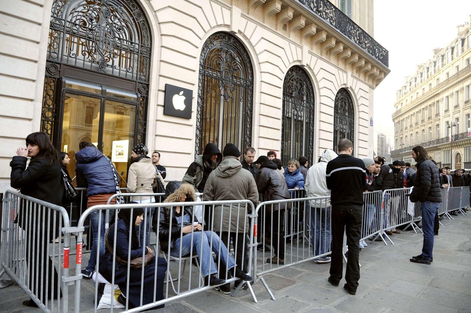 Frankreich / Apple / iPad Launch