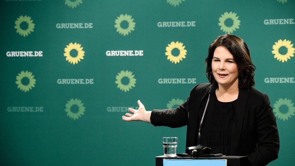 Von A wie Arbeitnehmerrechte bis Z wie Zero Waste: Grünen-Kandidatin Annalena Baerbock in Berlin