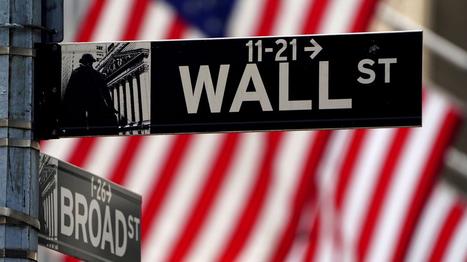 Wall Street: Auch an der New Yorker Börse fallen die Kurse