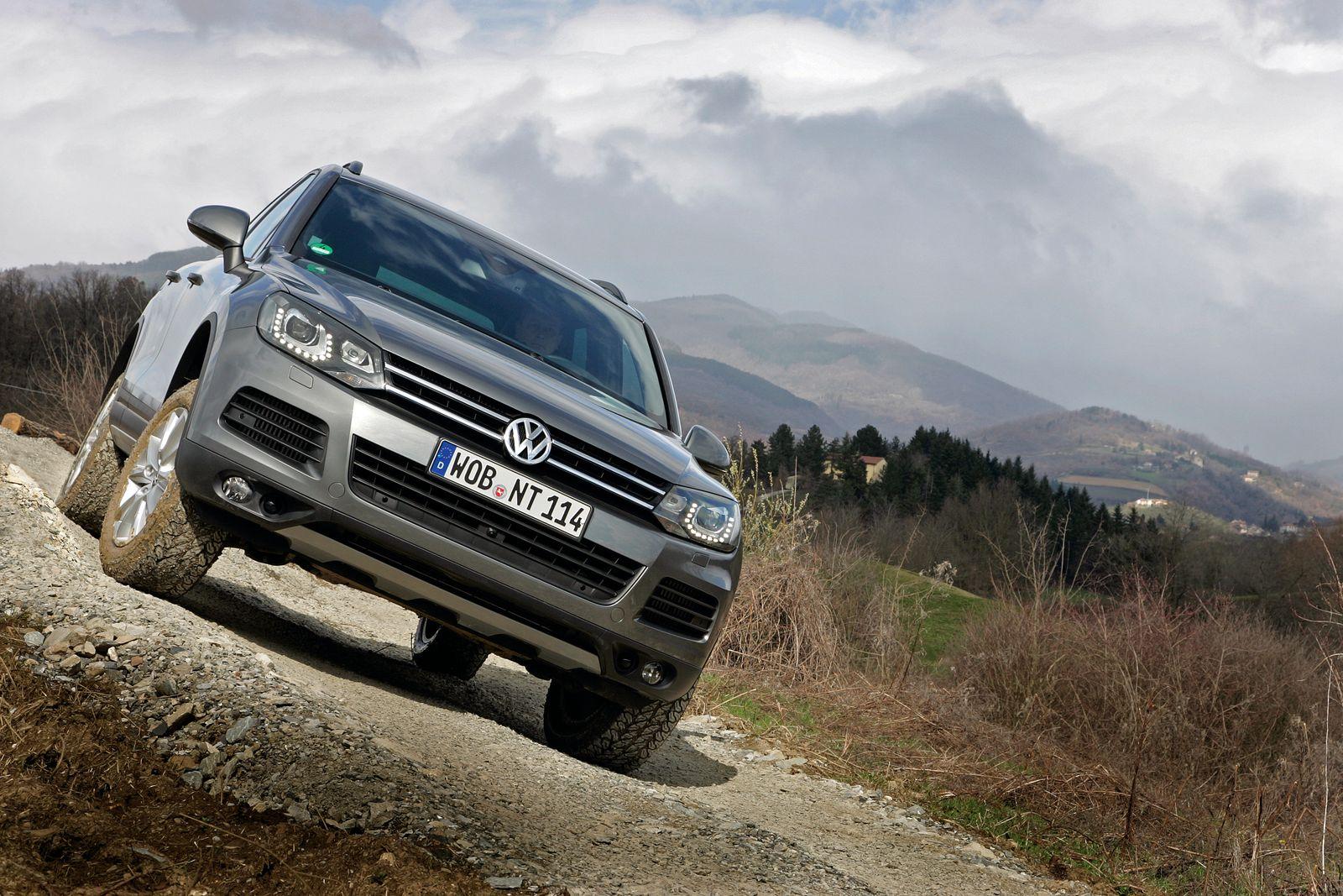 VW Touareg V6 TDI BlueMotion Technology