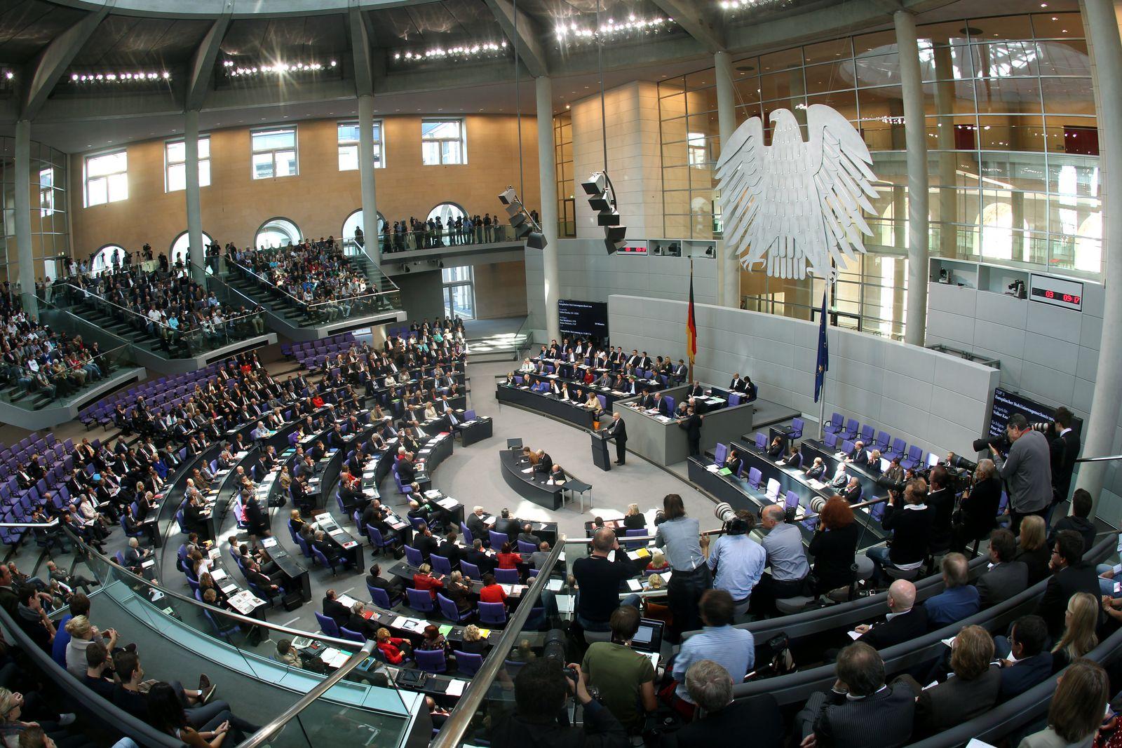 Bundestag Abstimmung über Ausweitung des Rettungsschirmes