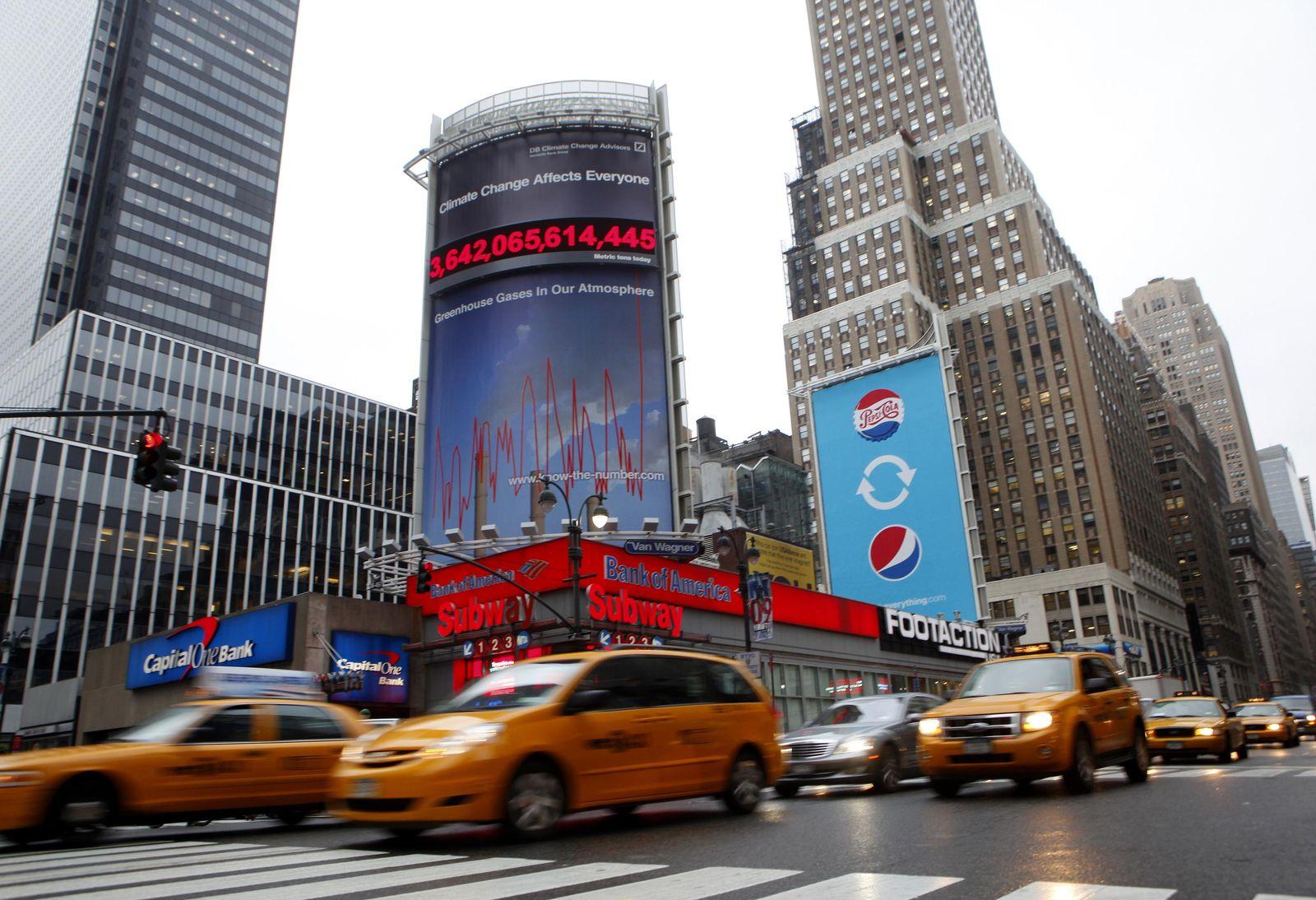 USA, New York / Deutsche Bank