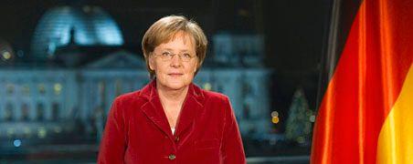 Bedingt optimistisch: Bundeskanzlerin Merkel