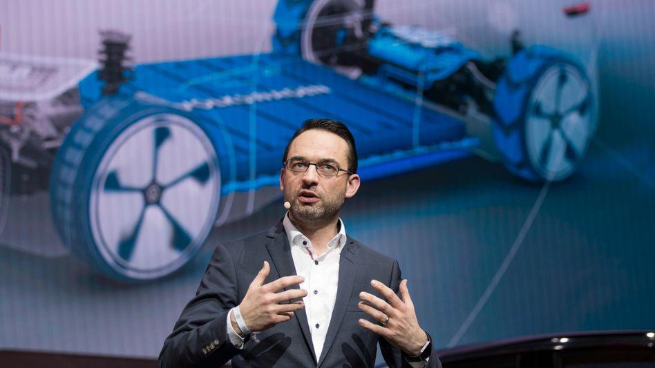 Soll das autonome Fahren der Nutzfahrzeuge voranbringen: VW-Manager Christian Senger