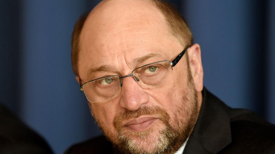 Ein Populist: Martin Schulz.