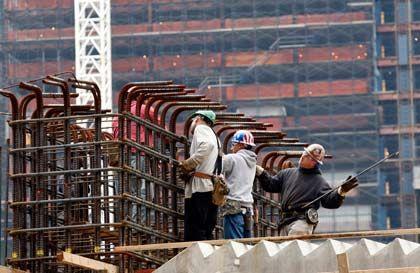 """Baustelle am Ground Zero: """"Zu früh, um Entwarnung für die Konjunktur zu geben"""""""