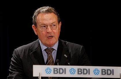 Künftig in Brüssel: Ex-BDI-Chef Thumann