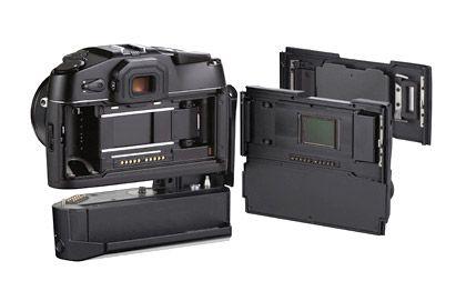 Die R9 und der Pixel-Rucksack: In einer Minute von analog zu digital
