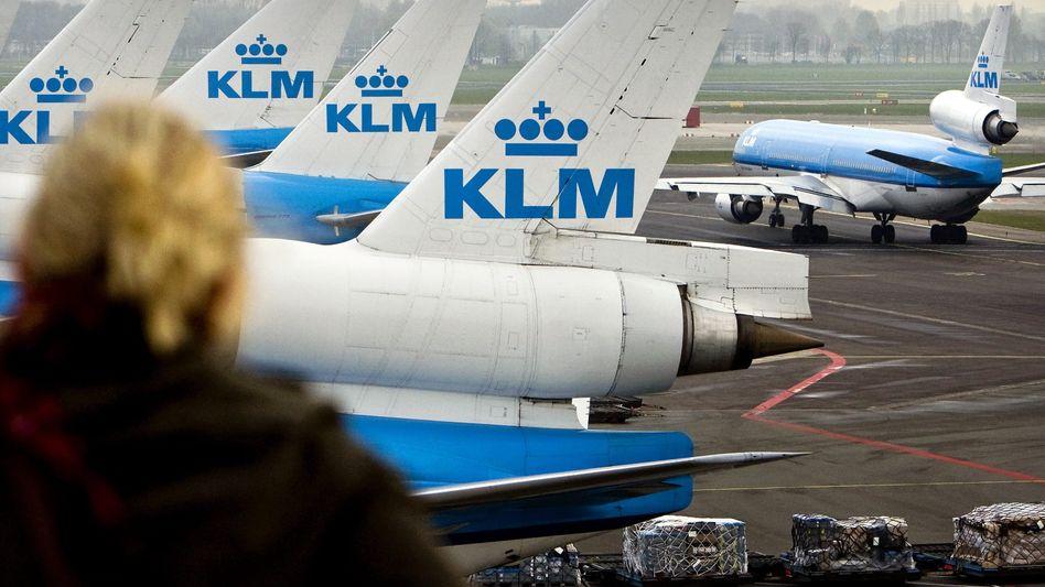 KLM: Am Mittwoch streikt das Bodenpersonal in Amsterdam