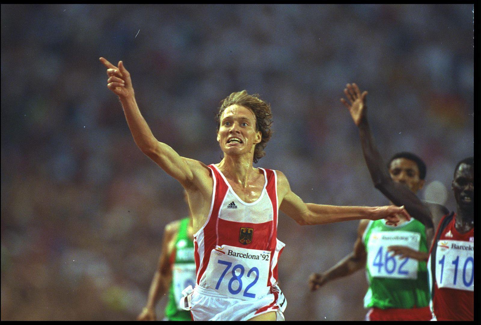 Dieter Baumann Olympia 1992