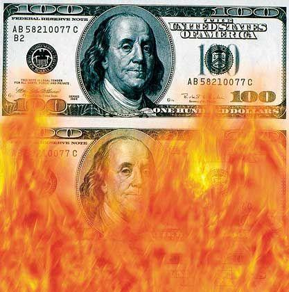 Unter Feuer: Der Dollar als Leitwährung gerät immer wieder in die Kritik