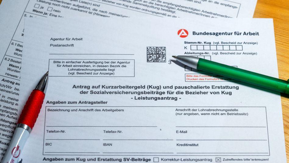 """Vorbildfunktion: Das deutsche Wort """"Kurzarbeit"""" hat es schon bis in den englischen Sprachgebrauch geschafft"""