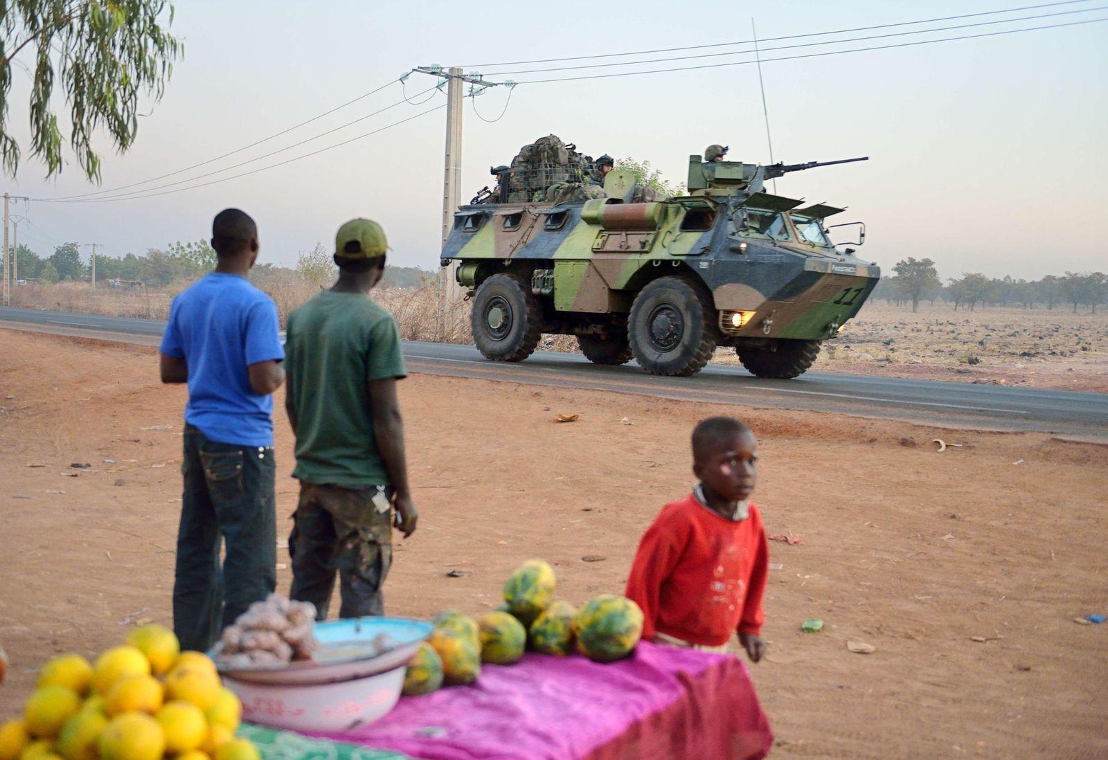 Frankreich Soldaten Mali