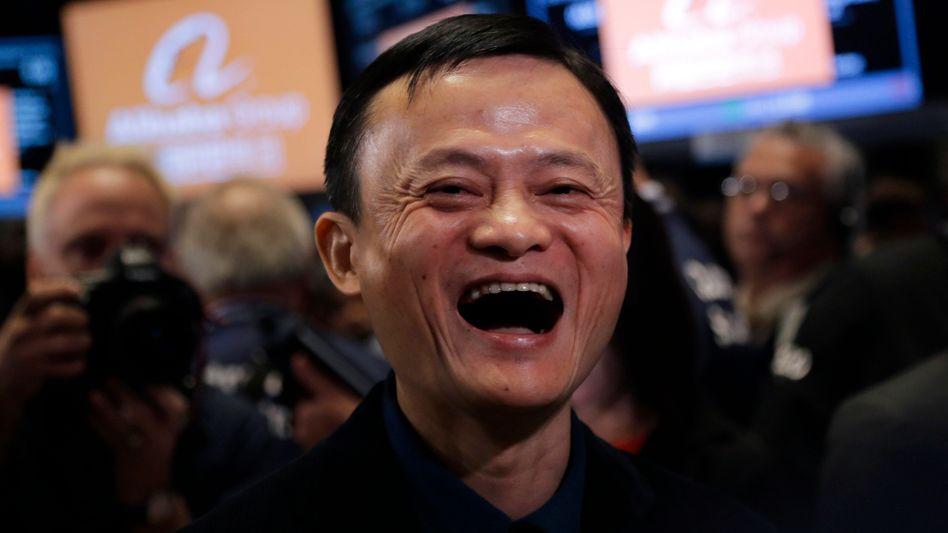 Jack Ma: Nach dem gelungenen IPO gibt auch der neue Singles-Day-Rekord dem Alibaba-Gründer Anlass zur Freude