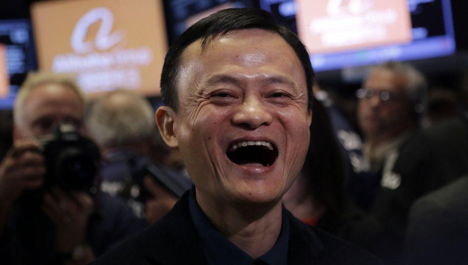 Neue Bastion im Visier: Künftig können Chinesen bei Jack Mas Alibaba auch über ihre Fernseher shoppen