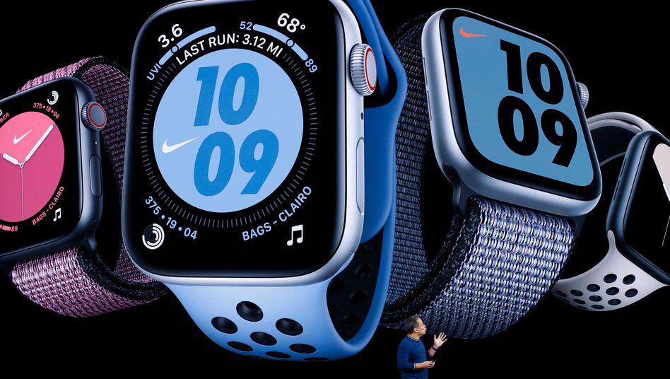 Wird immer beliebter: Die Apple watch