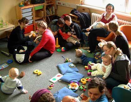 Initiative ergreifen: Studenten der TU Dresden haben in ehrenamtlicher Arbeit Räume zur Kinderbetreuung an der Uni eingerichtet