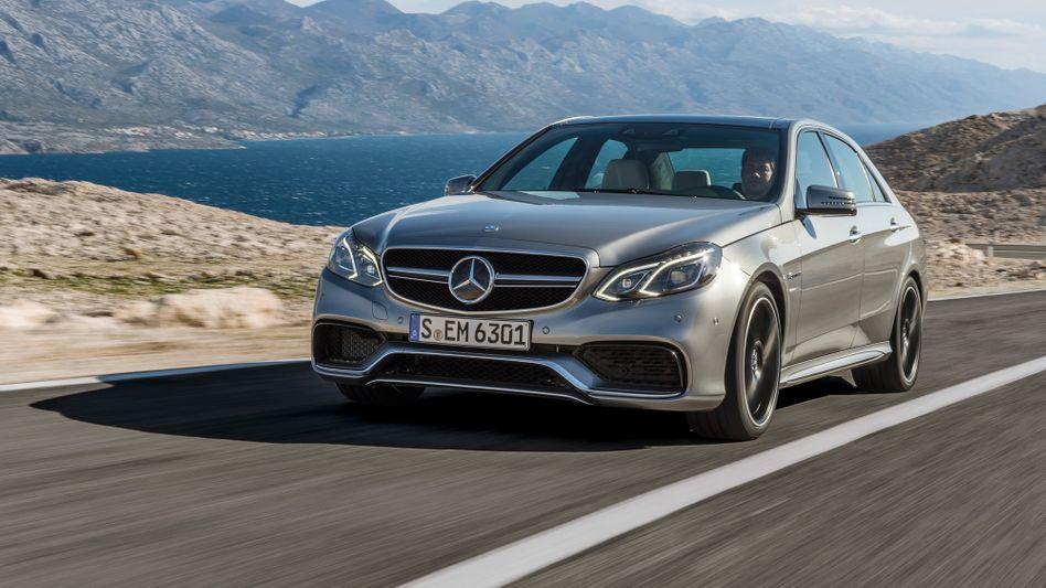 Neue Mercedes E-Klasse in AMG-Sportversion: Die Amerikaner haben derzeit genügend Geld für deutschen Luxus