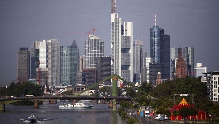 Profiteure des Brexit: Die Frankfurter Konkurrenten