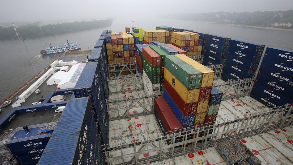Containerschiff: Die Schifffahrt steckt seit Jahren in einer schweren Krise
